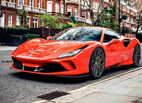 FERRARI F8 TRIBUTO WITH 828 HP and 900 NM STAGE 1 CHIP-TUNING POWER AND LOMA BLACKFORCE ONE WHEELS!