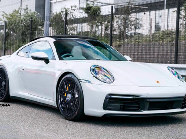 Porsche 992 Custom Forged Wheels.