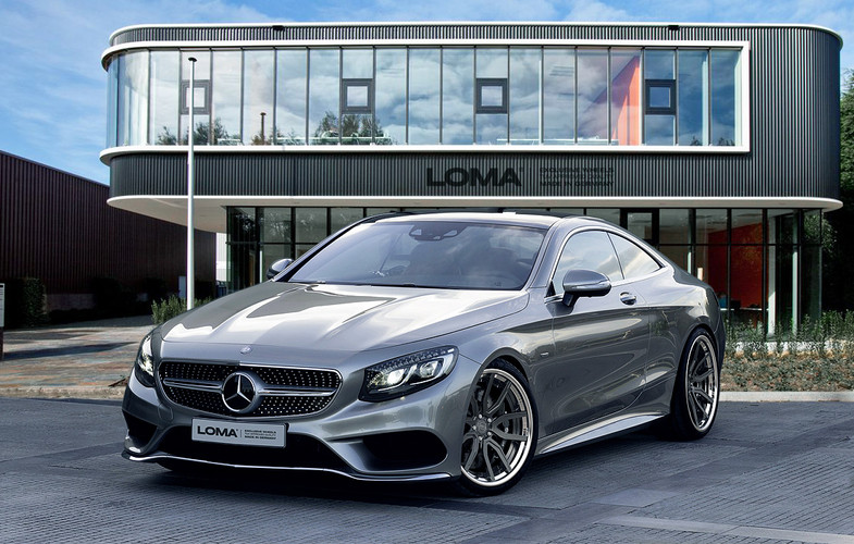 ALLOY FORGED RIMS MERCEDES S500 | LOMA SP1-SL WHEELS