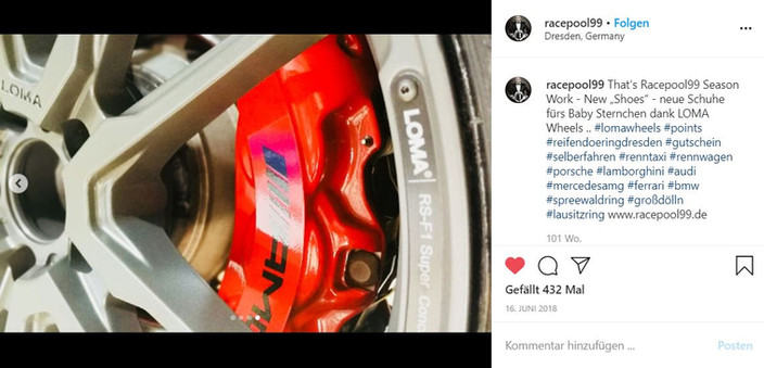 LOMA WHEELS | MERCEDES C63S AMG RACEPOOL STEVE MIZERA