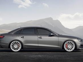 2020 Audi A4 Allroad Quattro 20-Inch Custom Forged Concave Wheels called LOMA Blazing Star