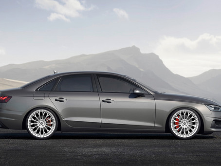 2020 Audi A4 Allroad Quattro 20-Inch Custom Forged Concave Wheels called LOMA Blazing Star
