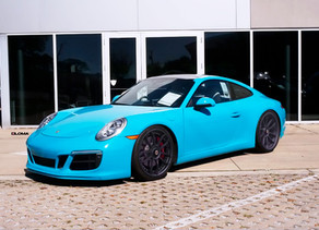 2018 LOMA PORSCHE 991 CARRERA TUNING WITH 21-INCH FORGED WHEELS FOR A RACE TRACK SHOW-OFF