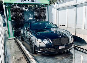 LOMA BENTLEY CONTINENTAL GT SPEED TUNING IN MONTE CARLO MONACO WITH 21-INCH SP1 FORGED WHEELS