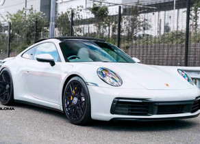 LOMA PORSCHE 992 4S TUNING WITH FORGED WHEELS IN 21 INCHES MAKES IT A PURE DREAM CAR