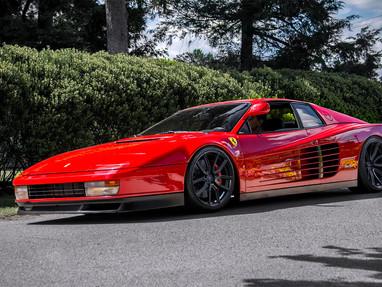 Ferrari Testarossa Custom Wheel Rims.