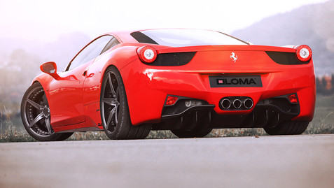 ALLOY FORGED RIMS FERRARI 458 | LOMA VFF-SL WHEELS