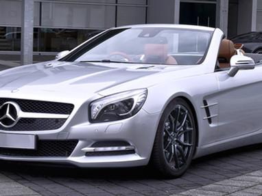 Aftermarket Wheels for Mercedes SL500.