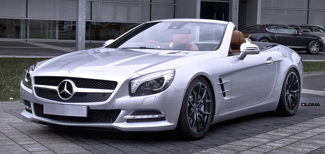 ALLOY FORGED RIMS MERCEDES SL500 | LOMA RS1-SL