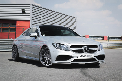 CUSTOM FORGED CONCAVE WHEELS MERCEDES C63 AMG WHEELS | LOMA RS-F1 SUPER CONCAVE