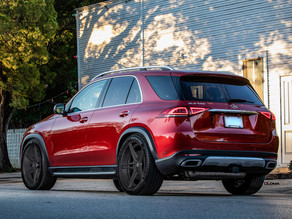 New Mercedes-Benz GLE GTO Custom Forged Wheels in 22-Inches by LOMA Wheels turns it into a dream car
