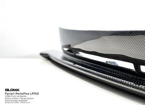 Ferrari Portofino Body Kit by LOMA in classic carbon fiber or original Ferrari Carbon