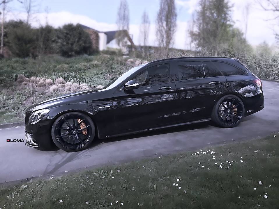 ALLOY FORGED RIMS MERCEDES C63 AMG | LOMA RS1-SL