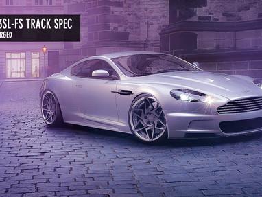 Aston Martin Custom Forged Wheels.