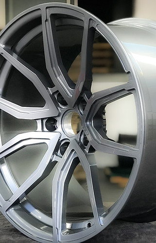 Simply Perfect | Liquid Silver for our custom forged concave luxury wheels