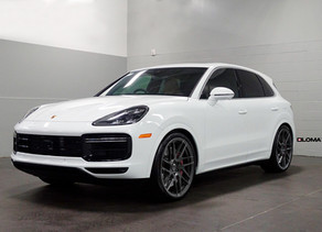 LOMA PORSCHE CAYENNE TUNING WITH 22/23-INCH DEEP CONCAVE FORGED WHEELS AND A SUSPENSION UPGRADE