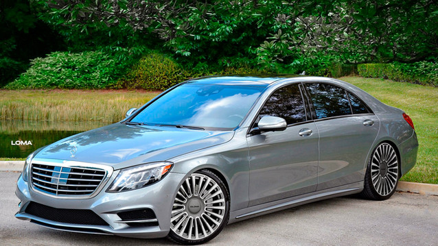 Chip tuning Mercedes S550.
