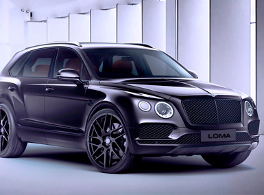 ALLOY FORGED RIMS BENTLEY BENTAYGA | LOMA SUPERFLOW
