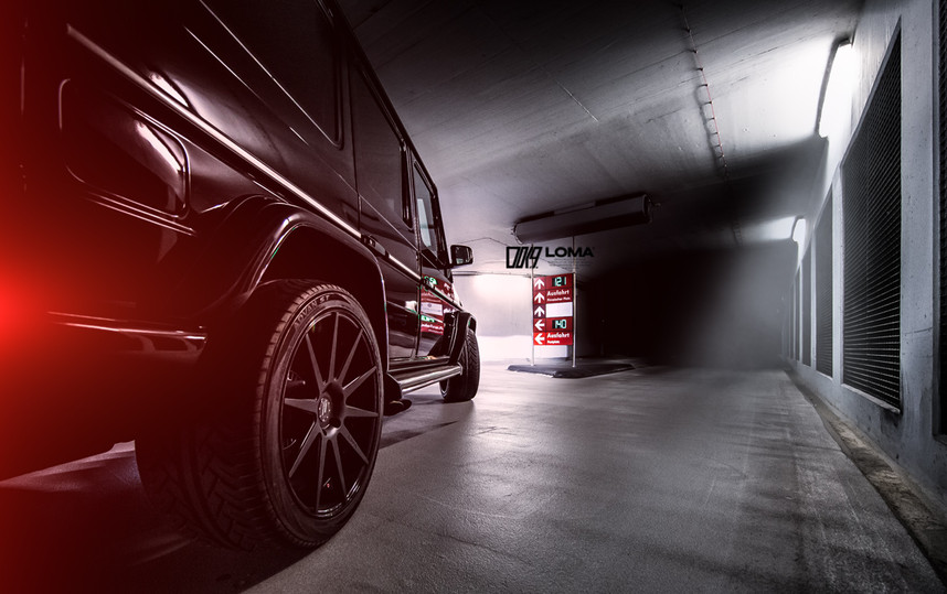 ALLOY FORGED RIMS MERCEDES G63 AMG | LOMA BLACK EDITION WHEELS