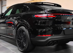 LOMA PORSCHE CAYENNE COUPE S TUNING WITH SUPERFLOW CUSTOM FORGED WHEELS IN 23-INCHES