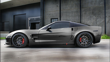 ALLOY FORGED RIMS CORVETTE C6 Z06 WIDEBODY | LOMA GTC-SL WHEELS