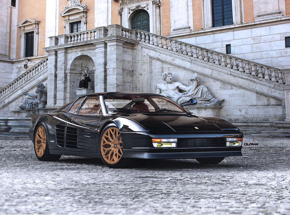 Ferrari Testarossa Wheels Rims