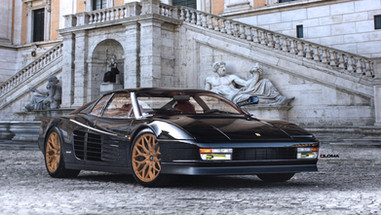 LUXURY FORGED CONCAVE WHEELS FERRARI TESTAROSSA | LOMA WHEELS
