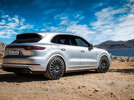 Classy 2021 Porsche Cayenne Turbo Coupe on 22-Inch Custom Forged Luxury Concave Wheels by LOMA
