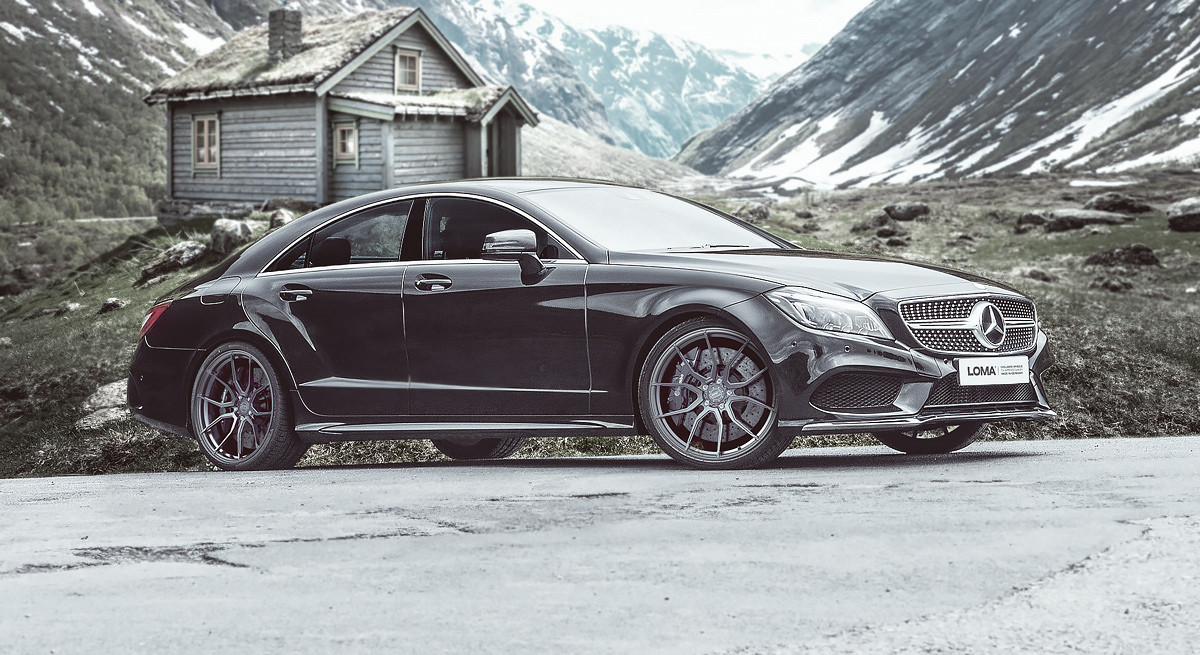 ALLOY FORGED RIMS MERCEDES CLS | LOMA RS1-SL