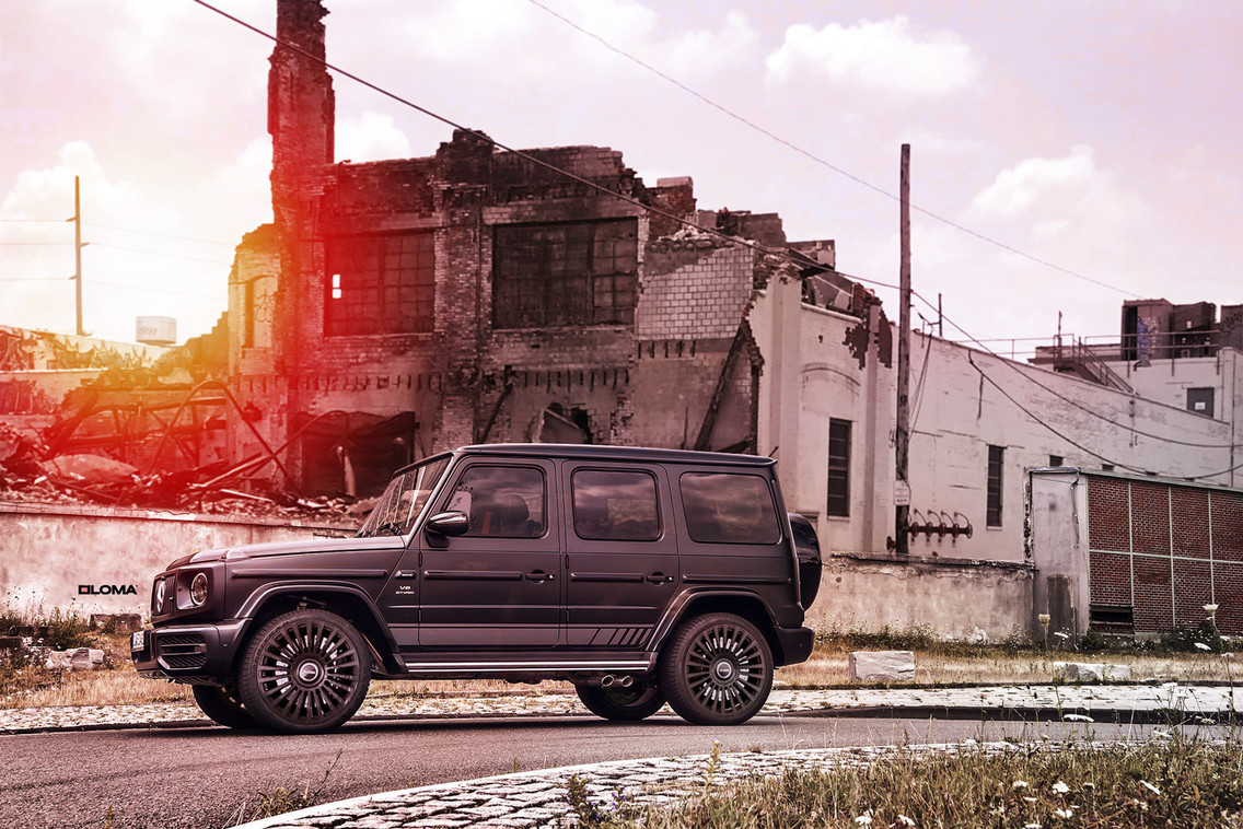 FORGED LUXURY WHEELS MERCEDES G63 AMG | LOMA WHEELS