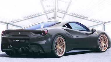 ALLOY FORGED RIMS FERRARI 488 | LOMA GTC-SL WHEELS