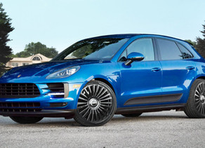 2020 LOMA PORSCHE MACAN S 22-INCH TUNING WITH MONTE CARLO STAR FORGED WHEELS IN BELUGA BLACK