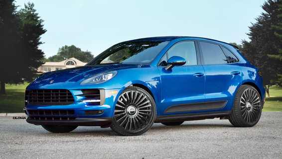 FORGED LUXURY WHEELS PORSCHE MACAN | LOMA WHEELS