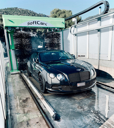 LOMA BENTLEY CONTINENTAL GT SPEED TUNING À MONTE CARLO MONACO AVEC 21-Pouces SP1 FORGED WHEELS!