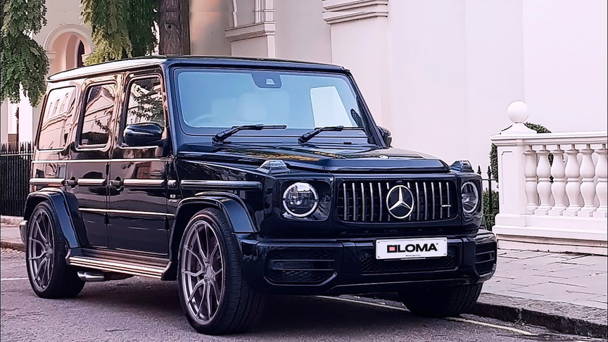 ALLOY FORGED RIMS MERCEDES G63 AMG | LOMA RS1-SL