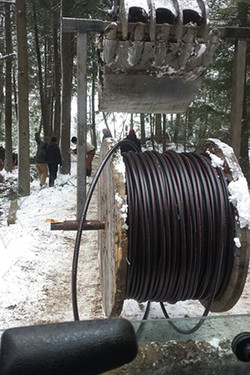 hydro-line-in-trench