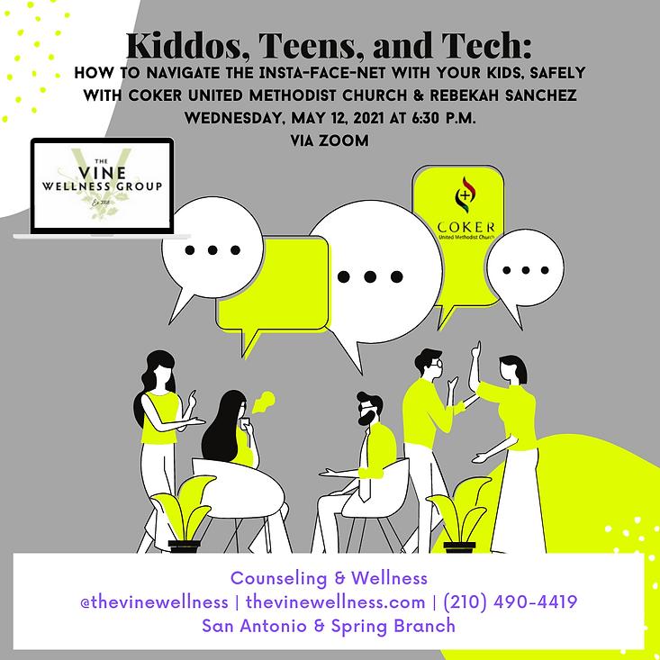 Kiddos, Teens, and Tech Coker UMC.png