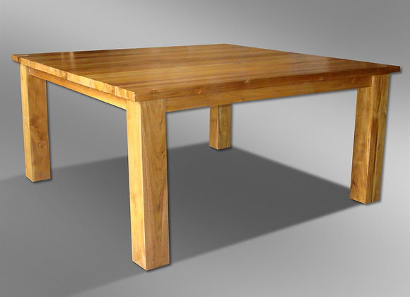 Simple Square Dining Table