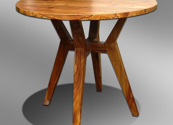 Sleek Round Dining Table