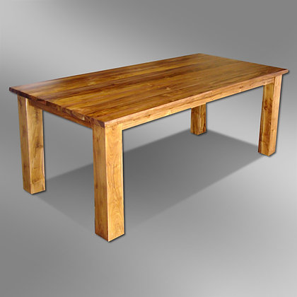 Simple Rectangular Dining Table