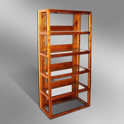 Sleek Slanted Bookcase