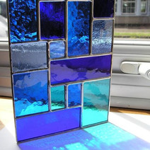 Decoración colgante con vidrio