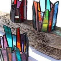 Lapiceros de vidrio reciclado