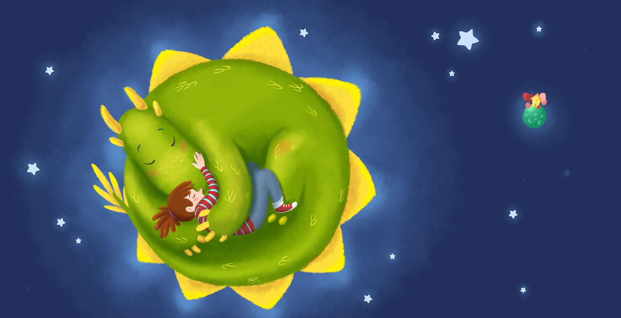 El dragón de las estrellas