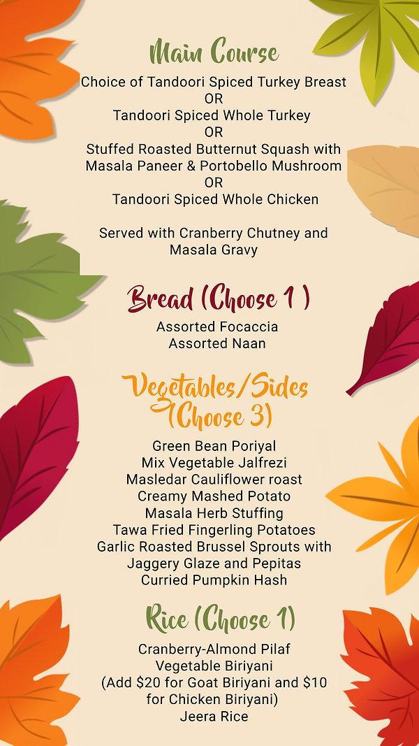 Copy of Thanksgiving Digital Menu Templa