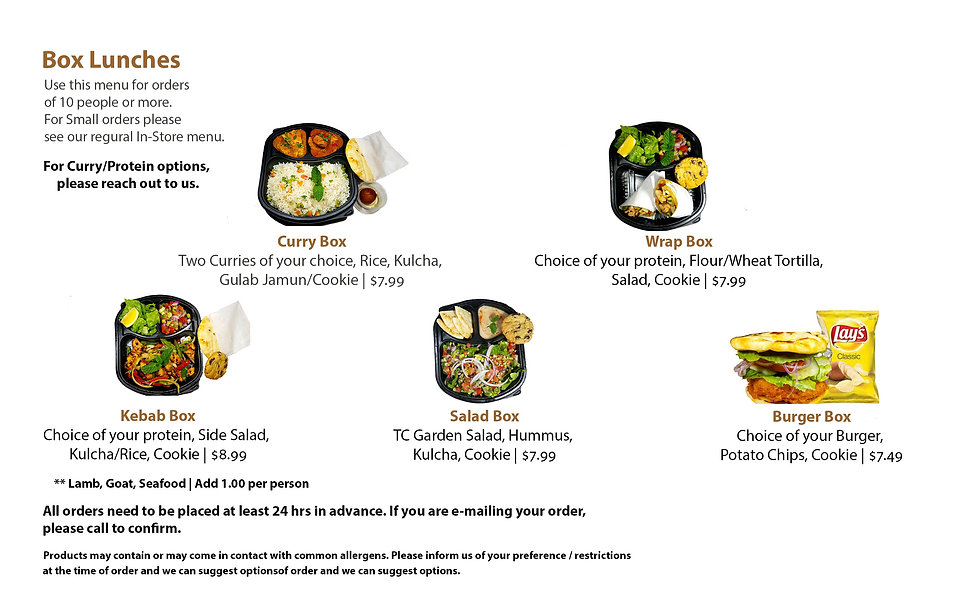 Catering companies in Phoenix AZ - Twisted Curry