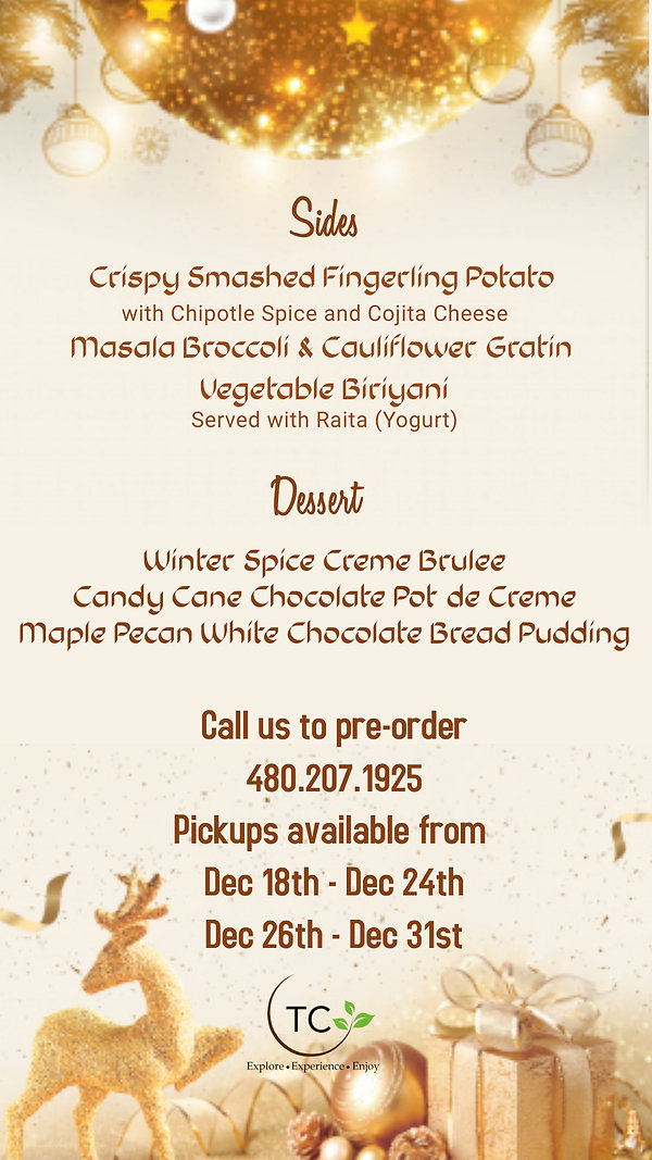 Copy of Christmas Menu Template - Made w