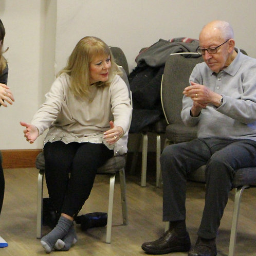 Dancing with Parkinson's Class (Class 3 of 5 Autumn 2020)