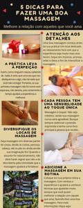 dicas simples para fazer massagem