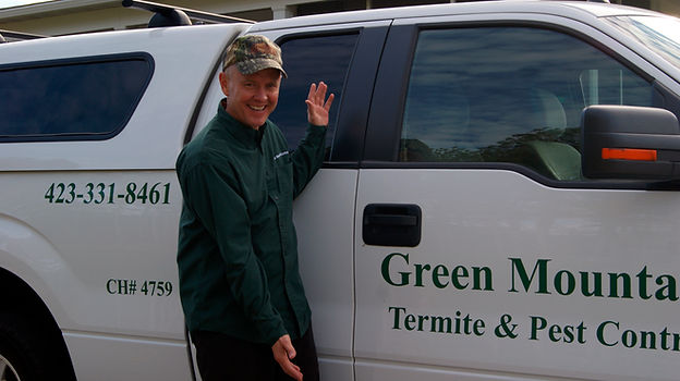 Exterminator in Cleveland Tennessee and Polk County Tennessee